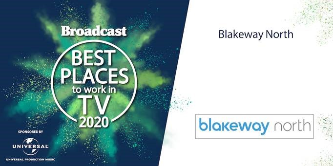 Best Place To Work In TV Award