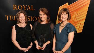 Blakeway wins Best Childrens Programme at the Royal Television Society (RTS) North West's annual awards.